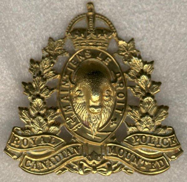 Fake Rcmp Cap Badge British Amp Commonwealth Military