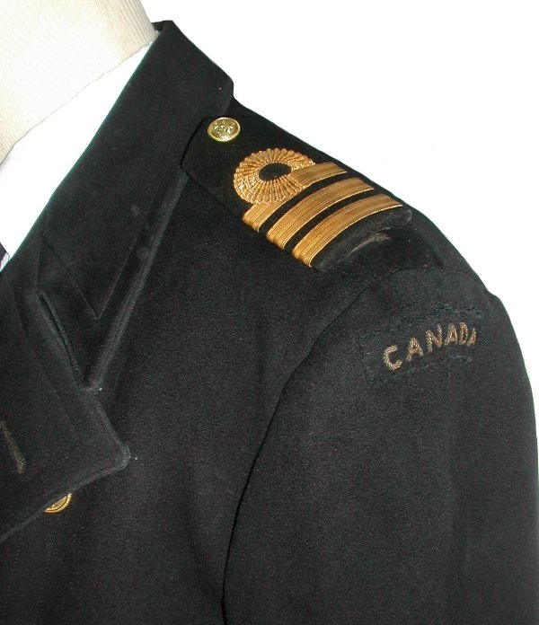 WW2 Royal Canadian Navy Officer's Uniforms