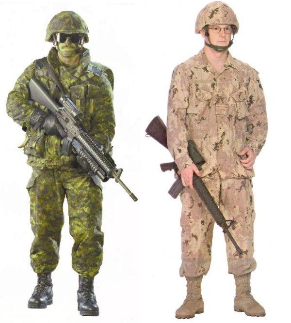 Canada Marines Uniform